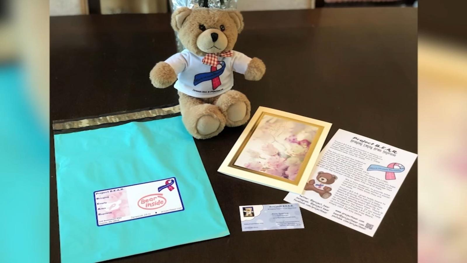 Mom gives 'bear hug' to families who lose infants