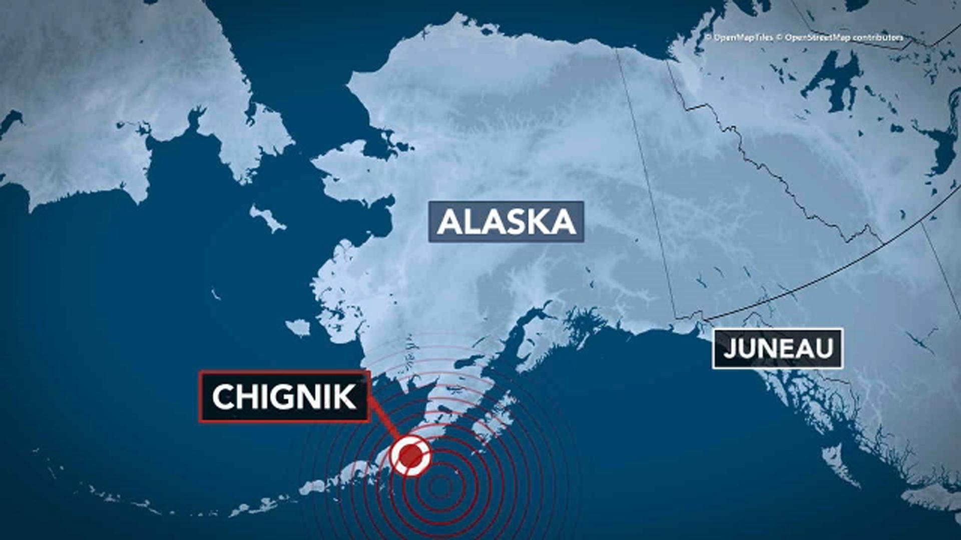 Alaska earthquake: 8.2-magnitude quake strikes off state's coast; tsunami warning canceled
