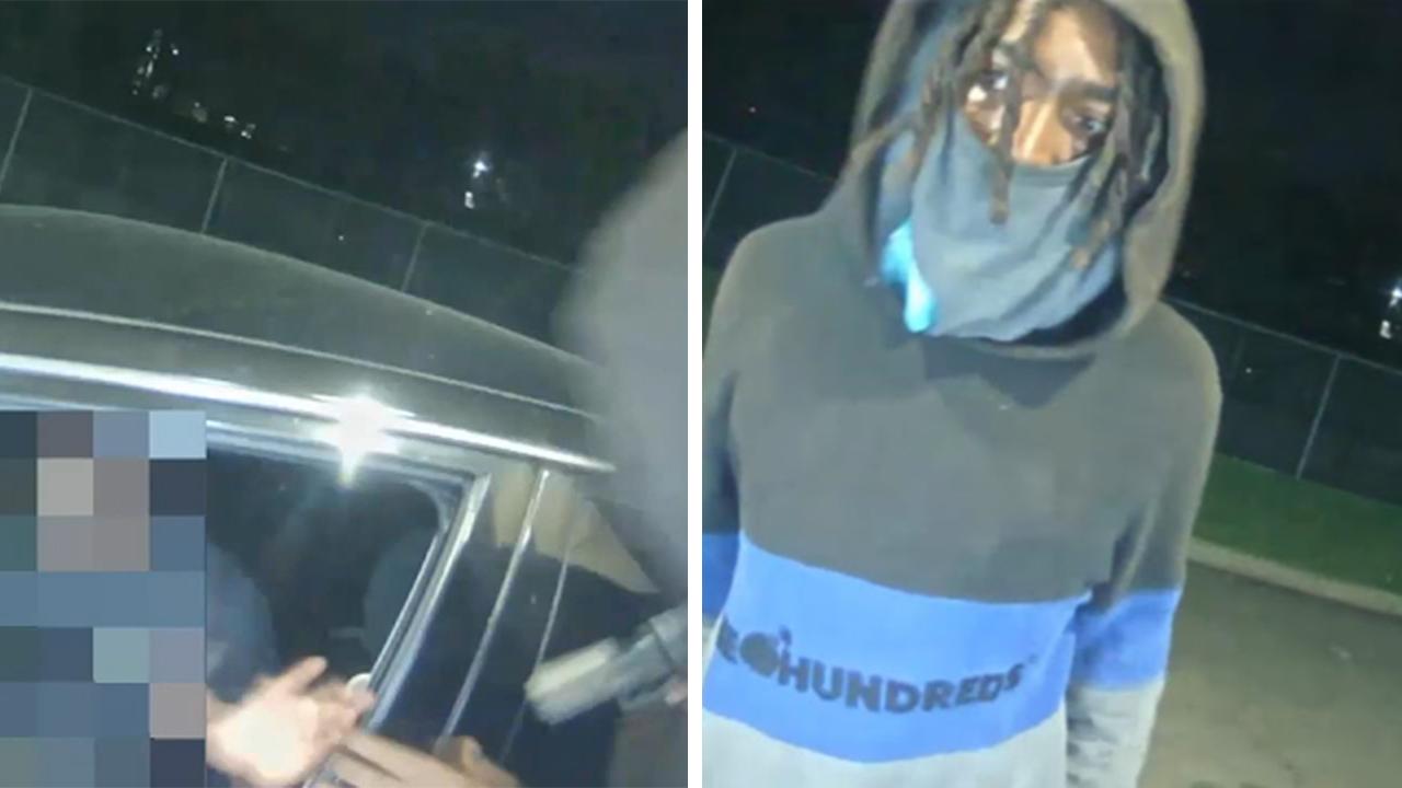 休斯敦西区自动取款机摄像头拍下持枪抢劫事件(视频)