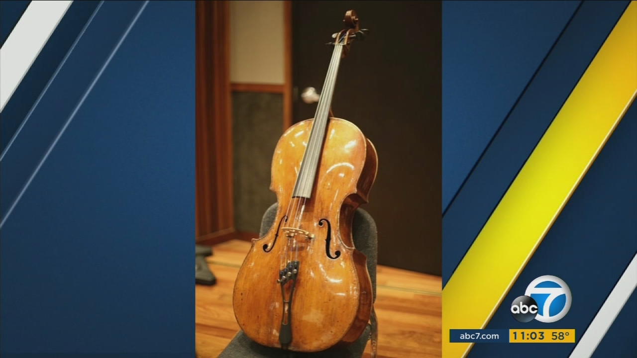 Police search for a 300-year-old Antonio Domenicelli cello stolen in Glendale.
