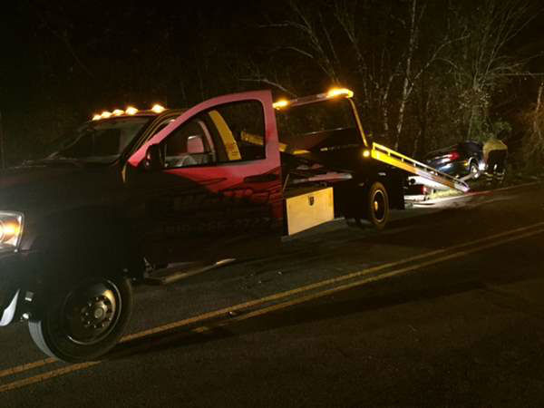 """<div class=""""meta image-caption""""><div class=""""origin-logo origin-image none""""><span>none</span></div><span class=""""caption-text"""">North Carolina State Highway Patrol is investigating how a car ended up in a Wake County creek (WTVD Photo/ ABC11 Reporter Gloria Rodriguez)</span></div>"""