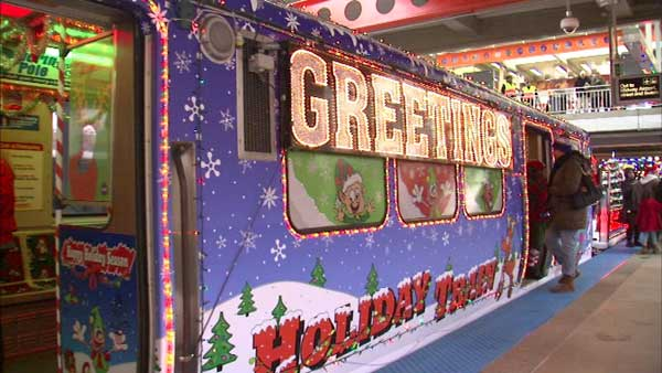 It's time to keep an eye out for the CTA Holiday Train! It will make its first trip of the season on Saturday.