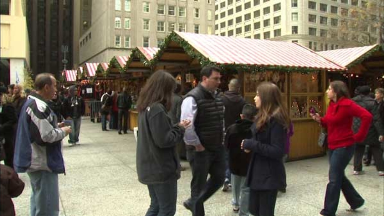 Christkindlmarket at Daley Plaza.