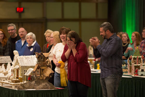 "<div class=""meta image-caption""><div class=""origin-logo origin-image none""><span>none</span></div><span class=""caption-text"">A competitor reacts at the National Gingerbread House Competition 2015. (Courtesy The Omni Grove Park Inn)</span></div>"