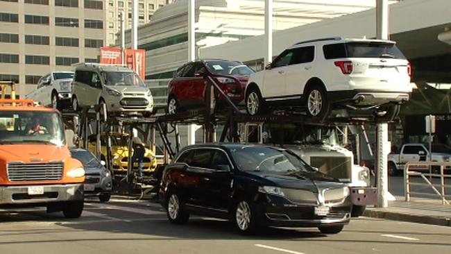 Annual International Auto Show Returns To San Francisco Abcnewscom - Moscone car show