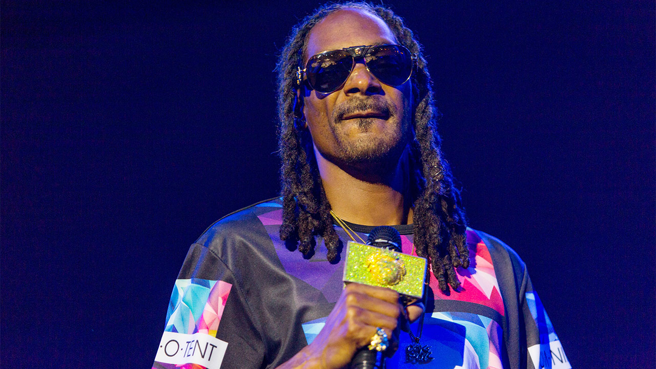 Rapper Snoop Dog