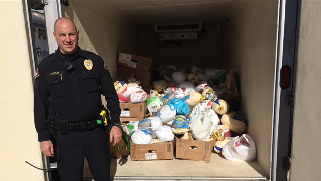 Wake Forest Police Department's 9th Annual Turkey Drive on Saturday Nov. 21