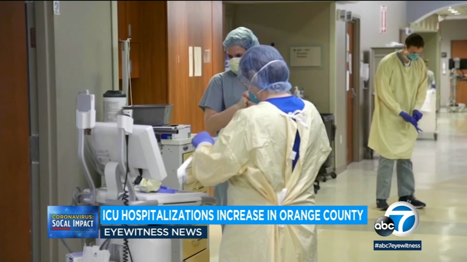 'Alarming increase': COVID hospitalizations up 366% in 1-month period in LA County as virus surges