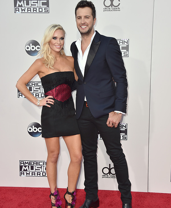 "<div class=""meta image-caption""><div class=""origin-logo origin-image ap""><span>AP</span></div><span class=""caption-text"">Luke Bryan, from right, and Caroline Boyer arrive at the American Music Awards at the Microsoft Theater on Sunday, Nov. 22, 2015, in Los Angeles. (Jordan Strauss/Invision/AP)</span></div>"