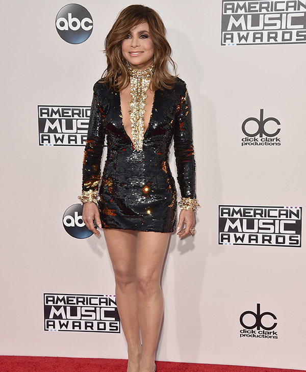 <div class='meta'><div class='origin-logo' data-origin='AP'></div><span class='caption-text' data-credit='Jordan Strauss/Invision/AP'>Paula Abdul arrives at the American Music Awards at the Microsoft Theater on Sunday, Nov. 22, 2015, in Los Angeles.</span></div>
