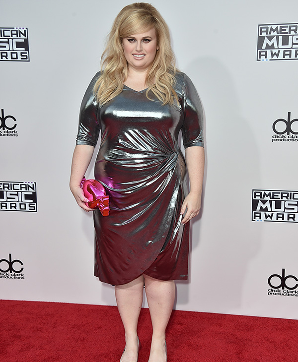 <div class='meta'><div class='origin-logo' data-origin='AP'></div><span class='caption-text' data-credit='Jordan Strauss/Invision/AP'>Rebel Wilson arrives at the American Music Awards at the Microsoft Theater on Sunday, Nov. 22, 2015, in Los Angeles.</span></div>