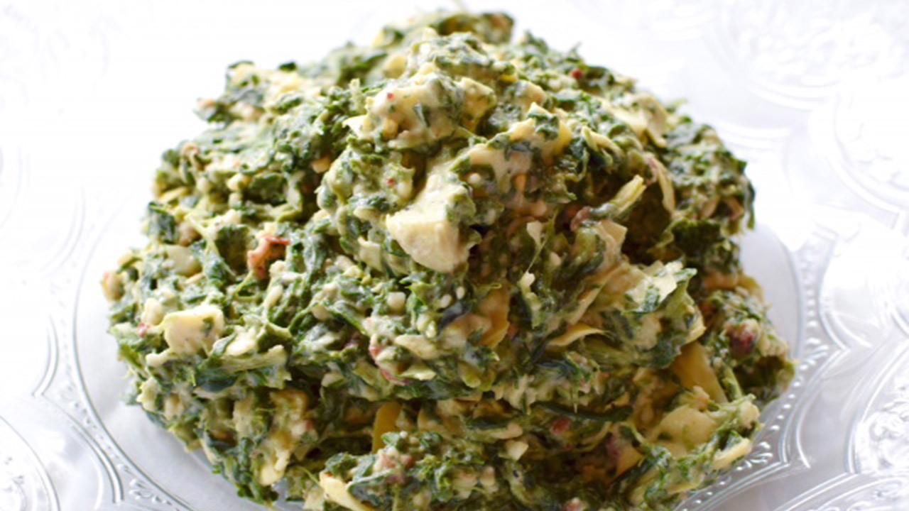Tony Mandola's Creamed Spinach