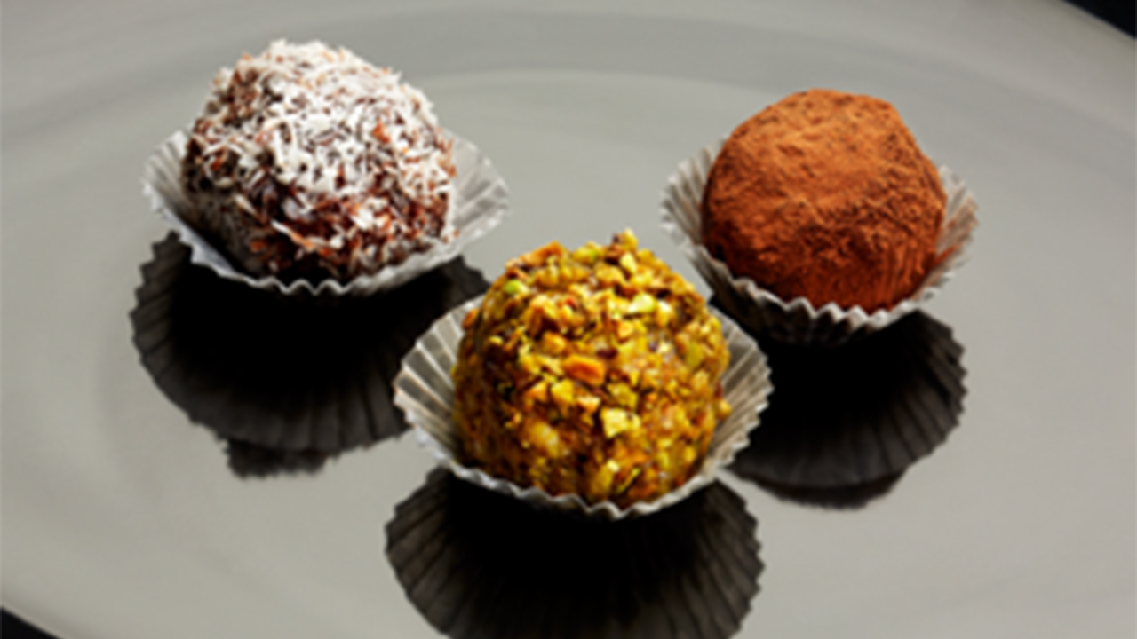 Luca Manfe's Pandoro Chocolate Truffles