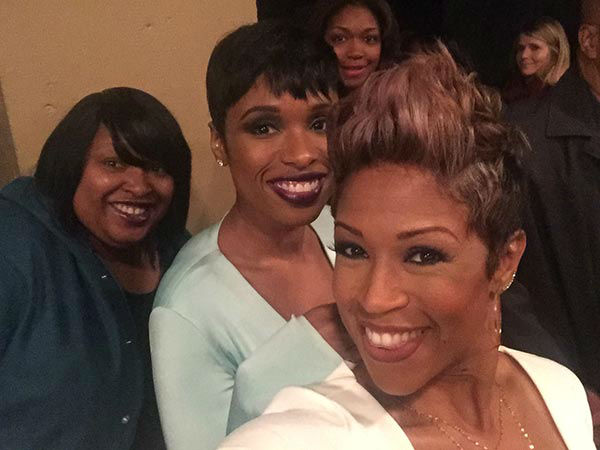 <div class='meta'><div class='origin-logo' data-origin='none'></div><span class='caption-text' data-credit=''>Val Warner and Jennifer Hudson at the premiere of &#34;Chi-Raq&#34;</span></div>