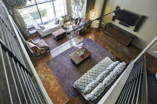 """<div class=""""meta image-caption""""><div class=""""origin-logo origin-image none""""><span>none</span></div><span class=""""caption-text"""">Located it the luxurious Renoir Lofts in River Oaks, this elegantly designed space is loft living at its finest. (Photo/TK IMAGES)</span></div>"""