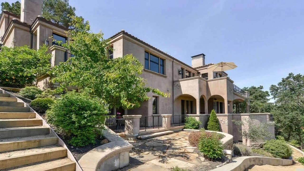 Steph Curry's $3.2 million mansion in Walnut Creek