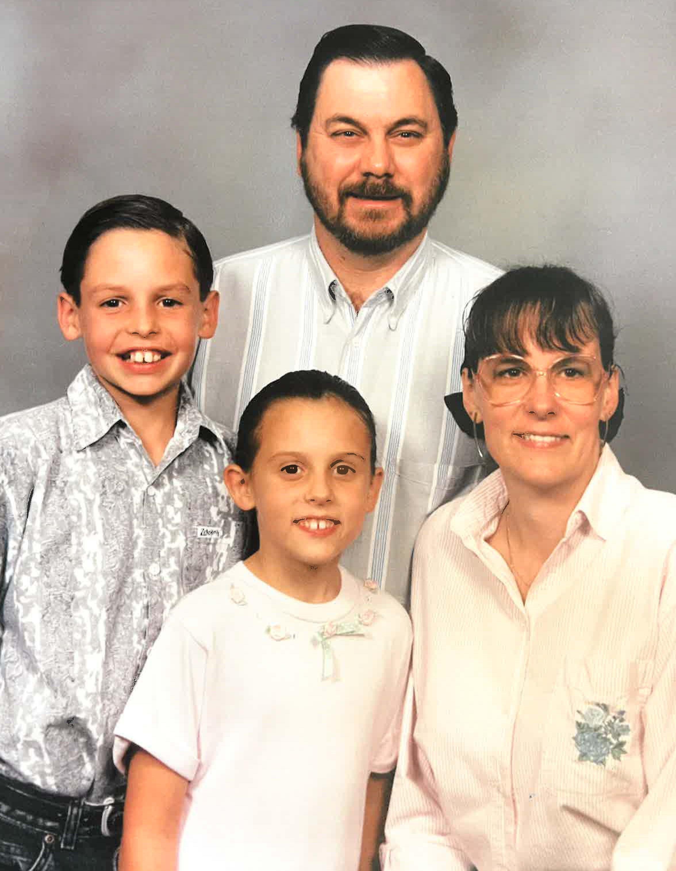 Monica Leech and family