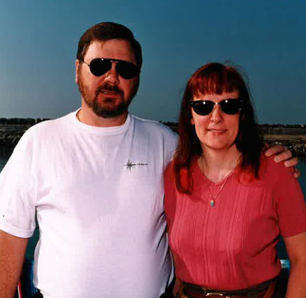 Monica and Floyd Leech
