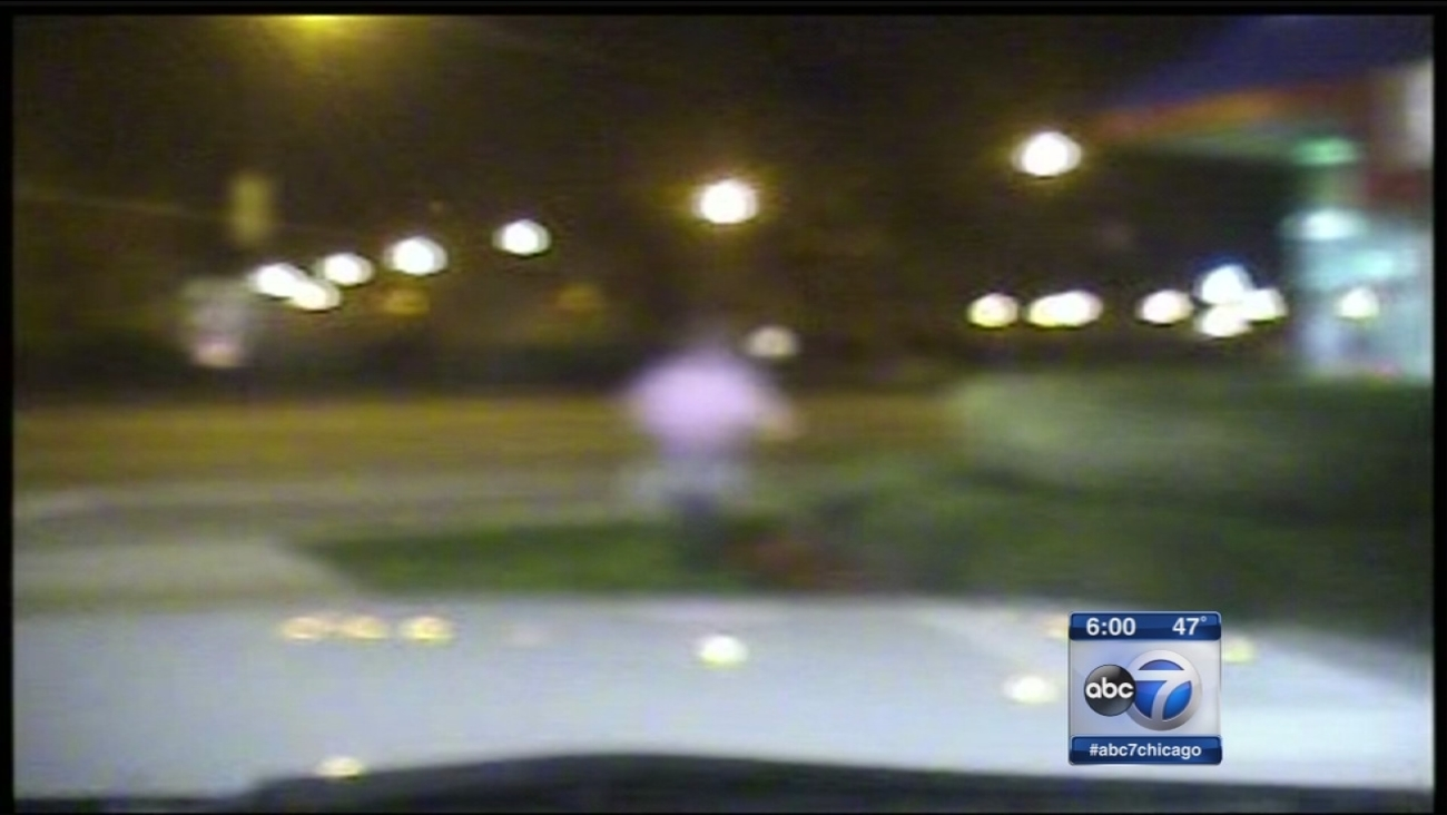 New dash cam video shows Laquan McDonald pursuit