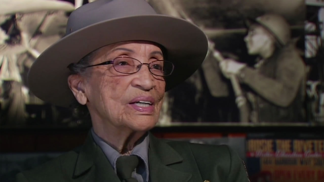 This undated image shows Betty Soskin, 94, the oldest fulltime park ranger in the nation, who has been invited to the White House to light the National Christmas Tree.