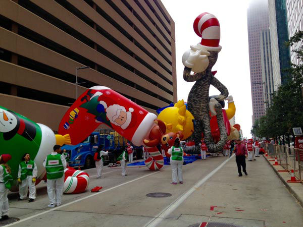 <div class='meta'><div class='origin-logo' data-origin='none'></div><span class='caption-text' data-credit=''>The 66th Annual HEB Thanksgiving Day Parade rolls through downtown Houston today.</span></div>