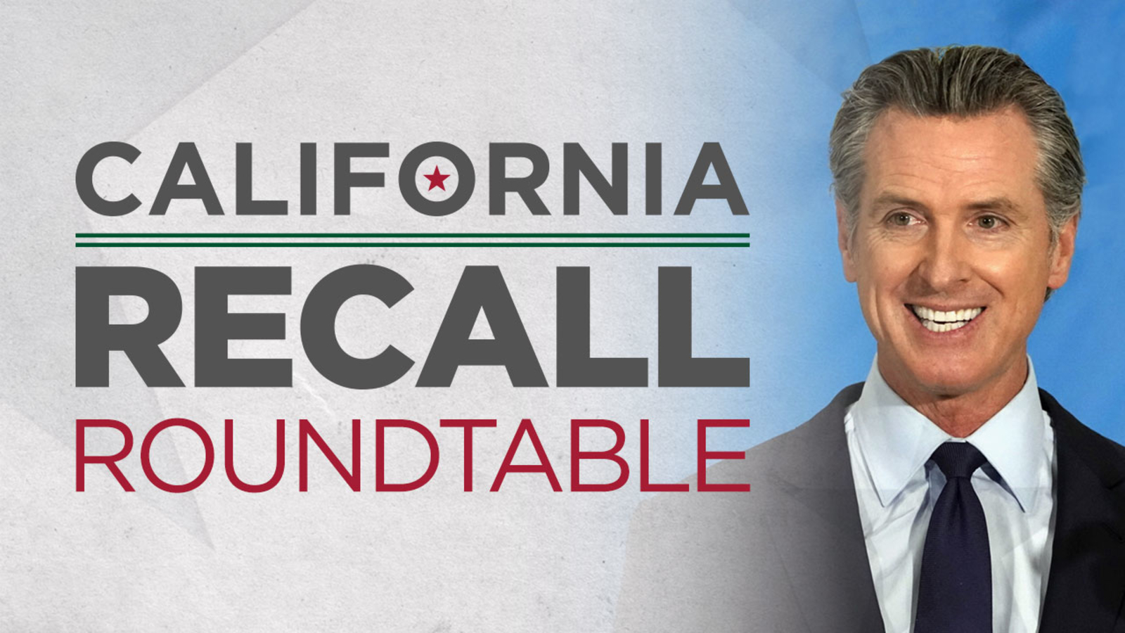 Marc Brown hosts Recall Roundtable on eve of Election Day - KGO-TV