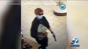 当局称Mission Viejo商场的Nordstrom被持枪抢劫后嫌疑人在逃