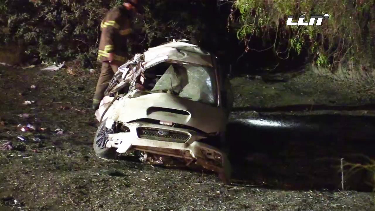 Fontana woman, 3-year-old girl killed in Eastvale car crash