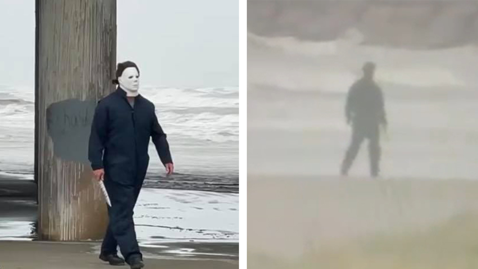 Texas layer dressed as Michael Myers arrested on Galveston Beach