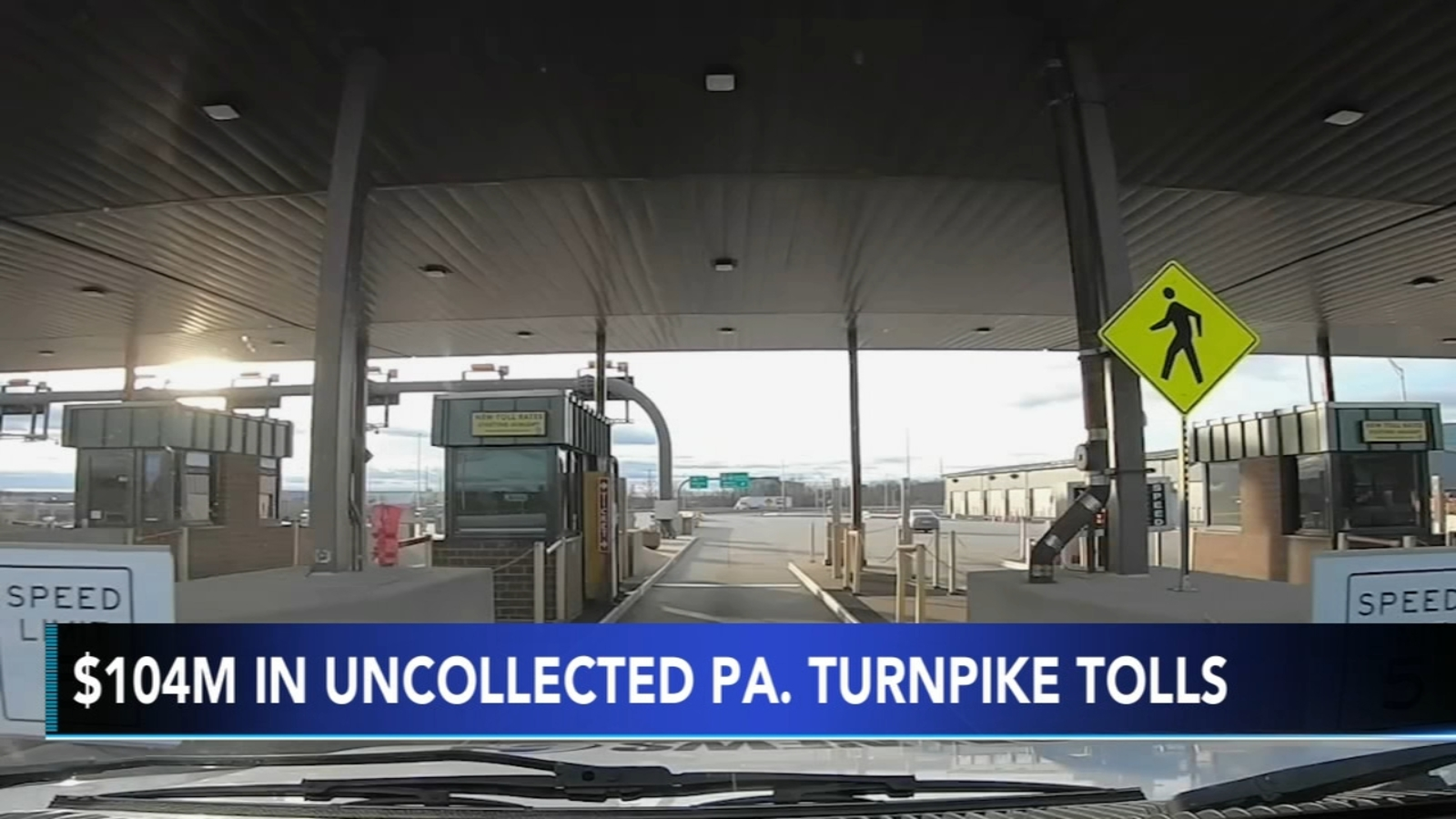 Pennsylvania Turnpike's $104 million in unpaid tolls draws senators' scrutiny
