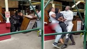休斯顿妇女因COVID-19疫苗要求而袭击纽约市餐馆女主人(视频)