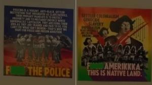 加州汉密尔顿高中的教室海报引发争议;洛杉矶市教育局发布回应