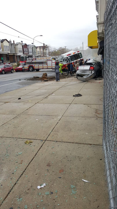 """<div class=""""meta image-caption""""><div class=""""origin-logo origin-image none""""><span>none</span></div><span class=""""caption-text"""">Viewer photo of an accident in West Philadelphia involving a fire truck. (Levy Rivera / Twitter)</span></div>"""
