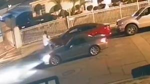 加州Bell花园可能发生的绑架事件被拍到(视频)