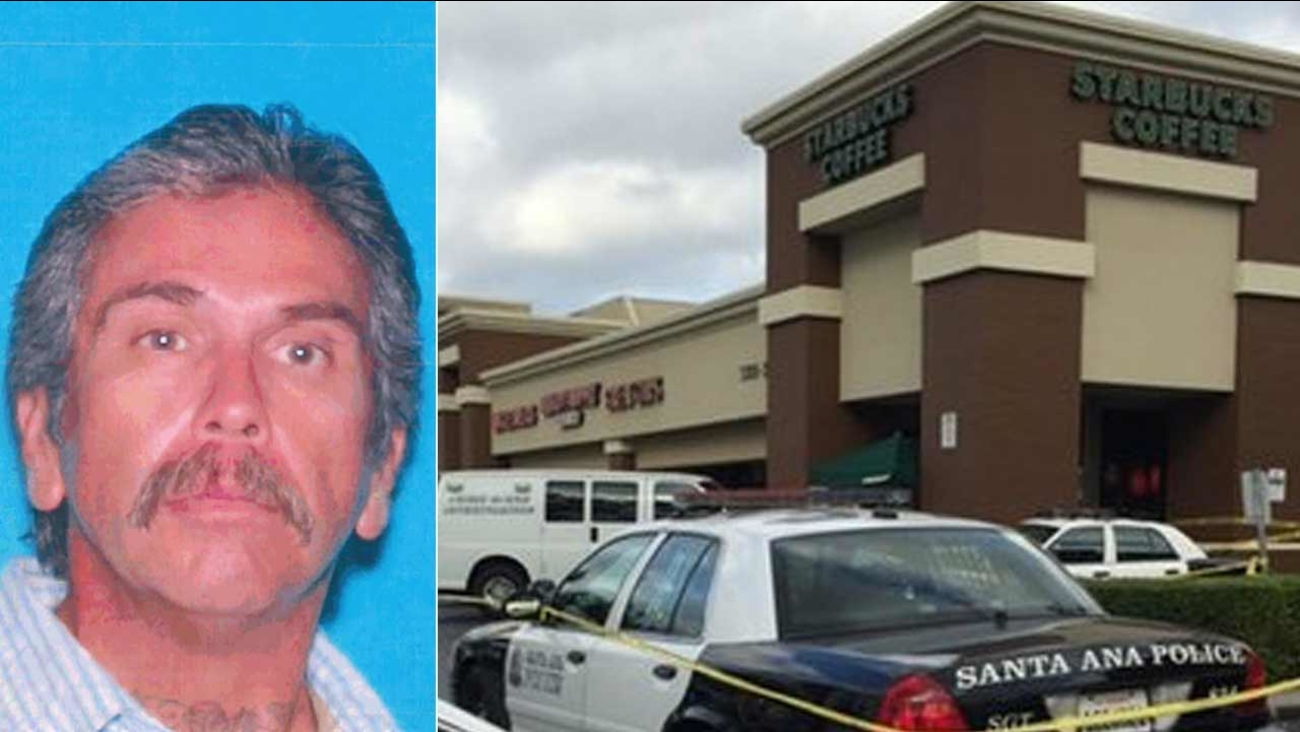 Ozro Robert Lee, 50, was killed after being hit in the head with a skateboard inside a Starbucks in Santa Ana on Tuesday, Nov. 24, 2015.
