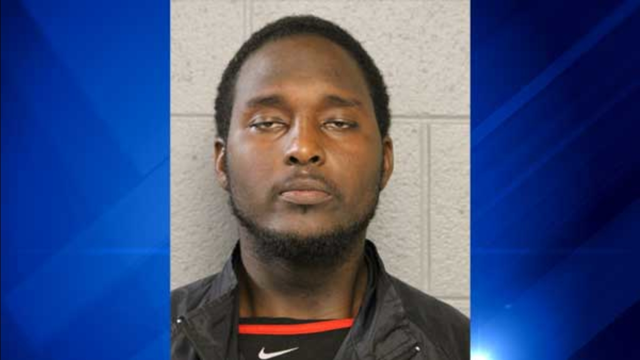 Lamont Robinson, 23, faces several charges after police said he stole a van with a 2-year-old girl inside.