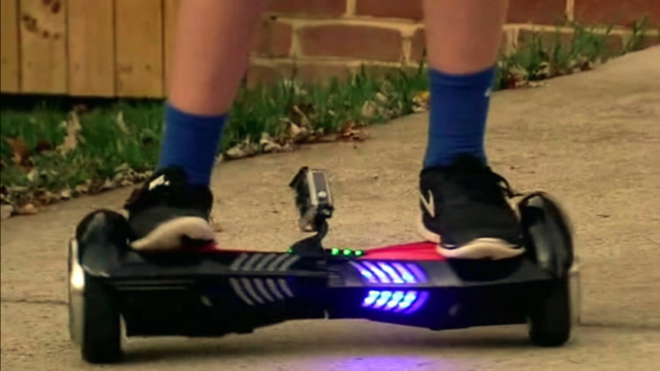 If a toy Hoverboard is on the top of your child's wish list, think twice because a family said the futuristic skateboard exploded inside their home.