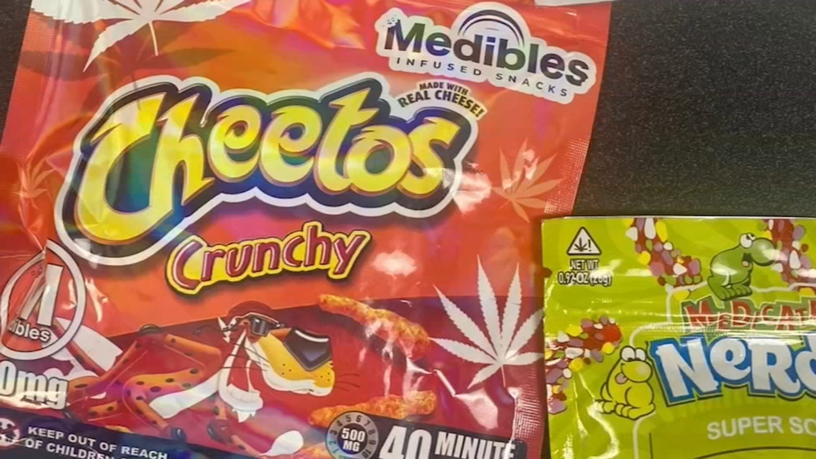 Police warn parents about cannabis candy ahead of Halloween... thumbnail