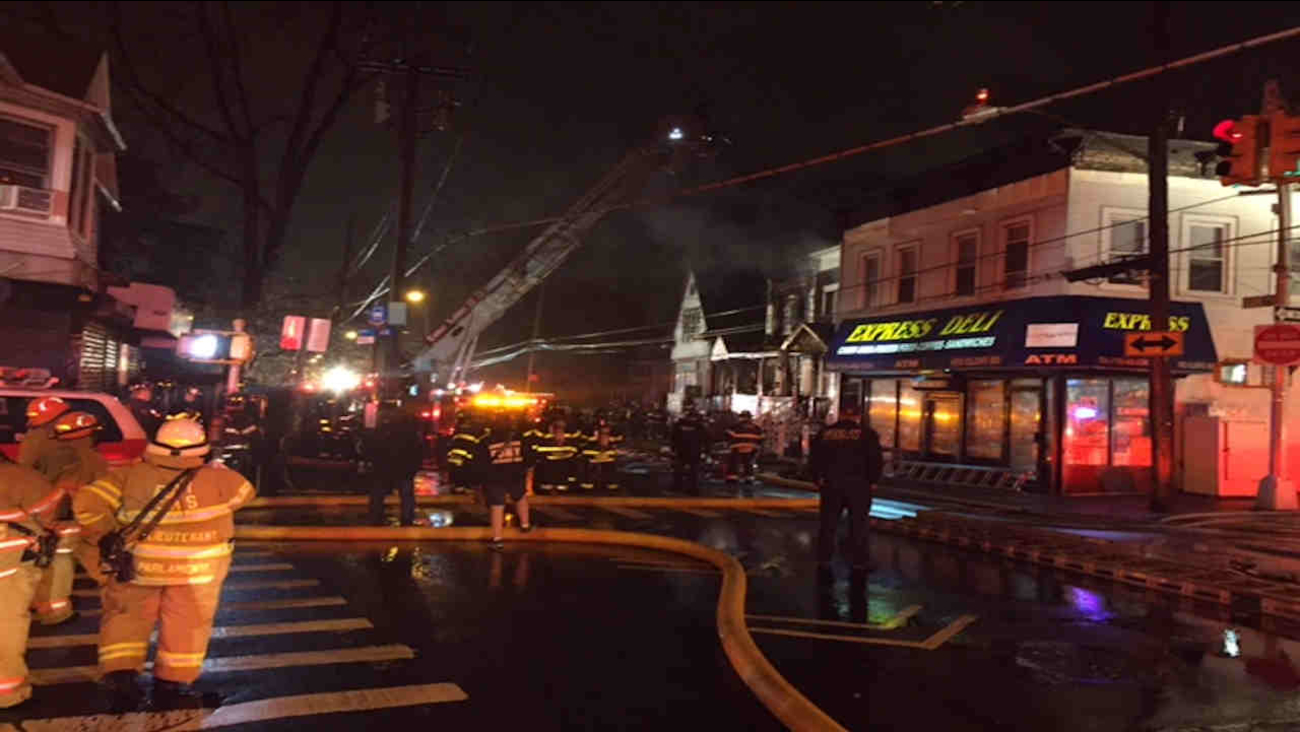 2 Alarm Fire Reignites At Home On Staten Island