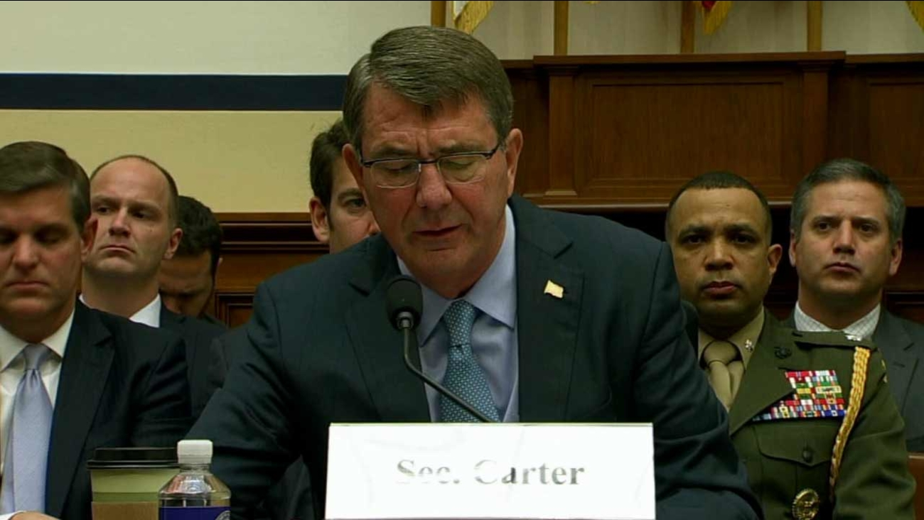 Defense Secretary Ash Carter told Congress on Tuesday, Dec. 2, 2015 that the U.S. military will deploy a new special operations force to Iraq to step up the fight against ISIS.