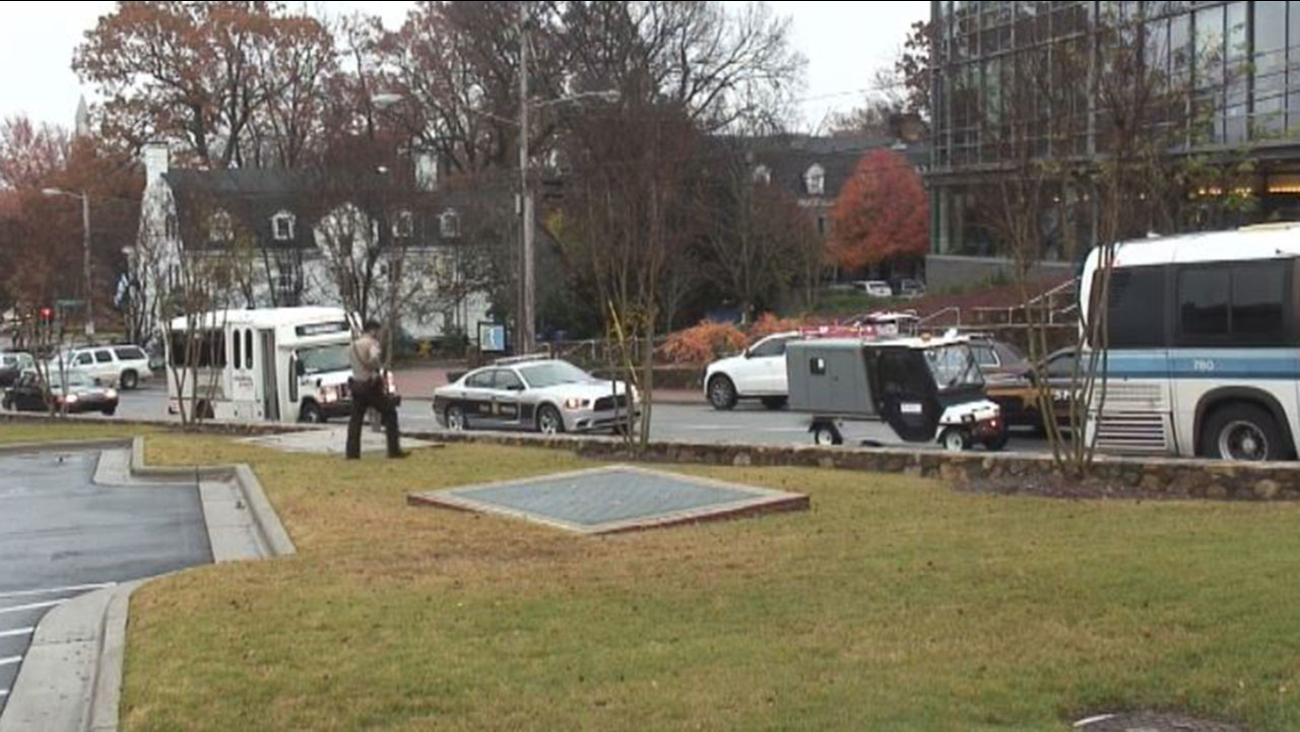 """UNC Chapel Hill was on lockdown Wednesday morning after a report of a """"dangerous person"""" on campus."""