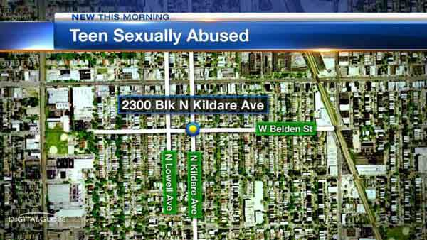 Police are looking for a man who they said tried to fondle a 17-year-old girl on Chicago's Northwest Side.