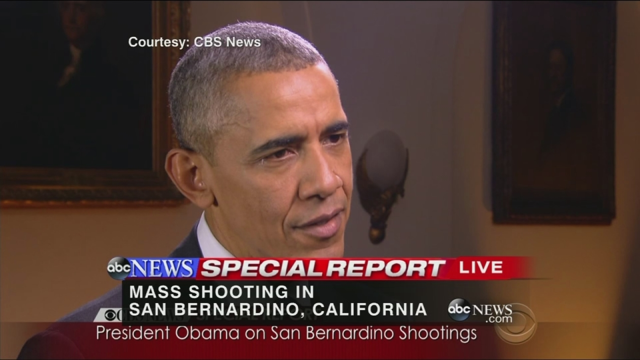 VIDEO: President Obama remarks on San Bernardino shootings