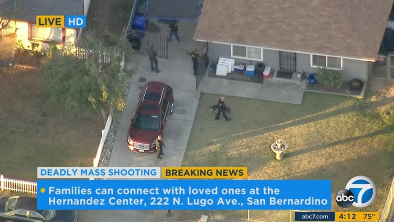 PHOTOS: Mass shooting incident in San Bernardino, Calif  | 6abc com