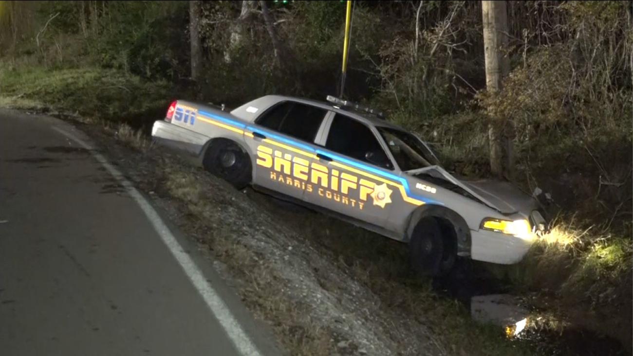 Deputy injured in NE Harris County