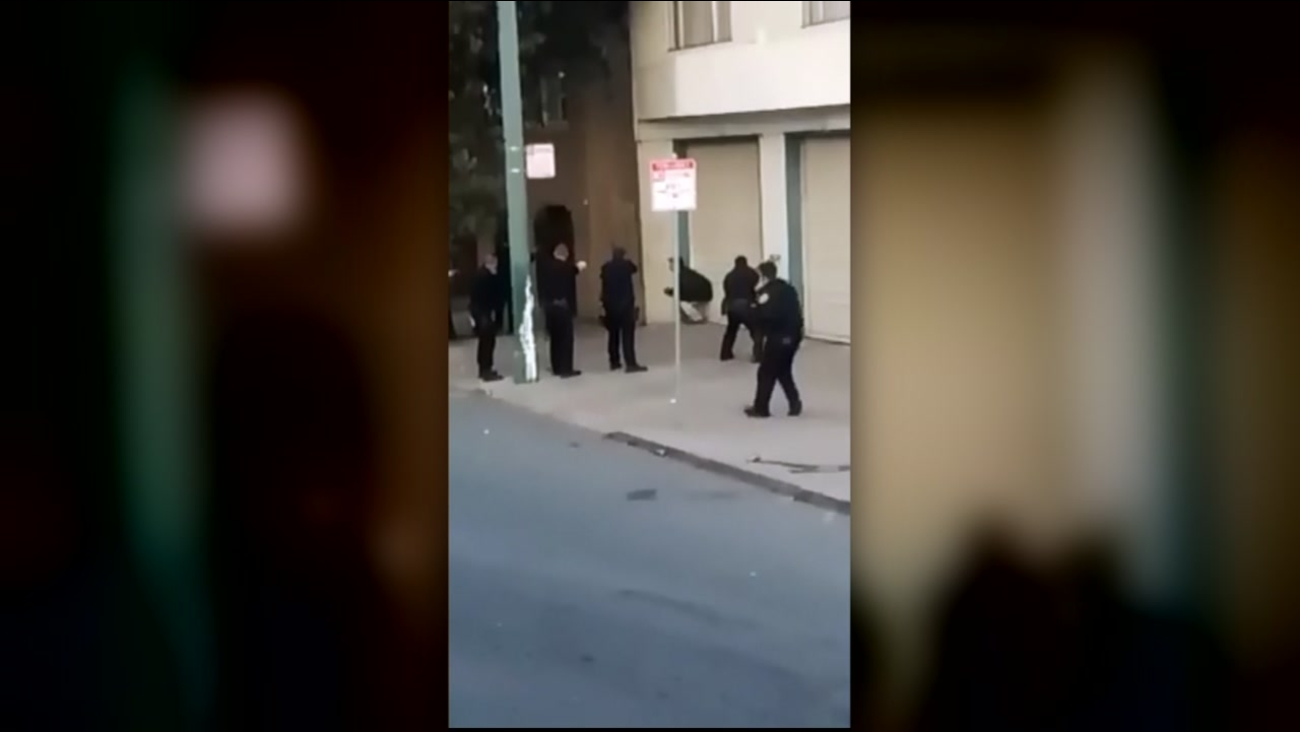 RAW VIDEO: Witness captures fatal shooting of Mario Woods