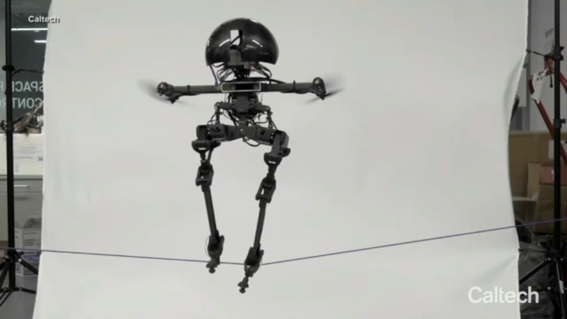 Caltech's new 'LEO' flying robot shows humans how it seamlessly moves between walking, flying - ABC7 San Francisco