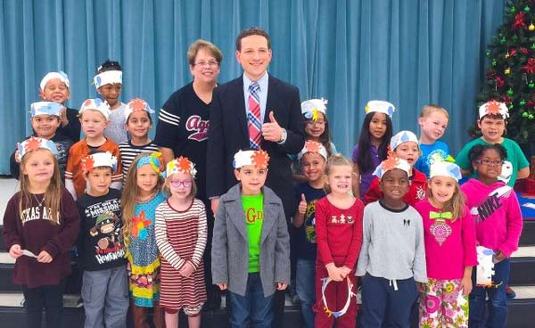 "<div class=""meta image-caption""><div class=""origin-logo origin-image none""><span>none</span></div><span class=""caption-text"">Travis Herzog: Mrs. Haney's students in Baytown showed off their weather hats while they helped me with the weather forecast!</span></div>"
