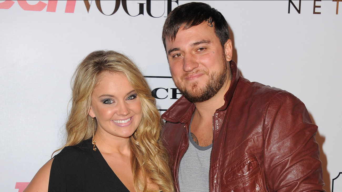 Actress Tiffany Thornton with husband Christopher Carney