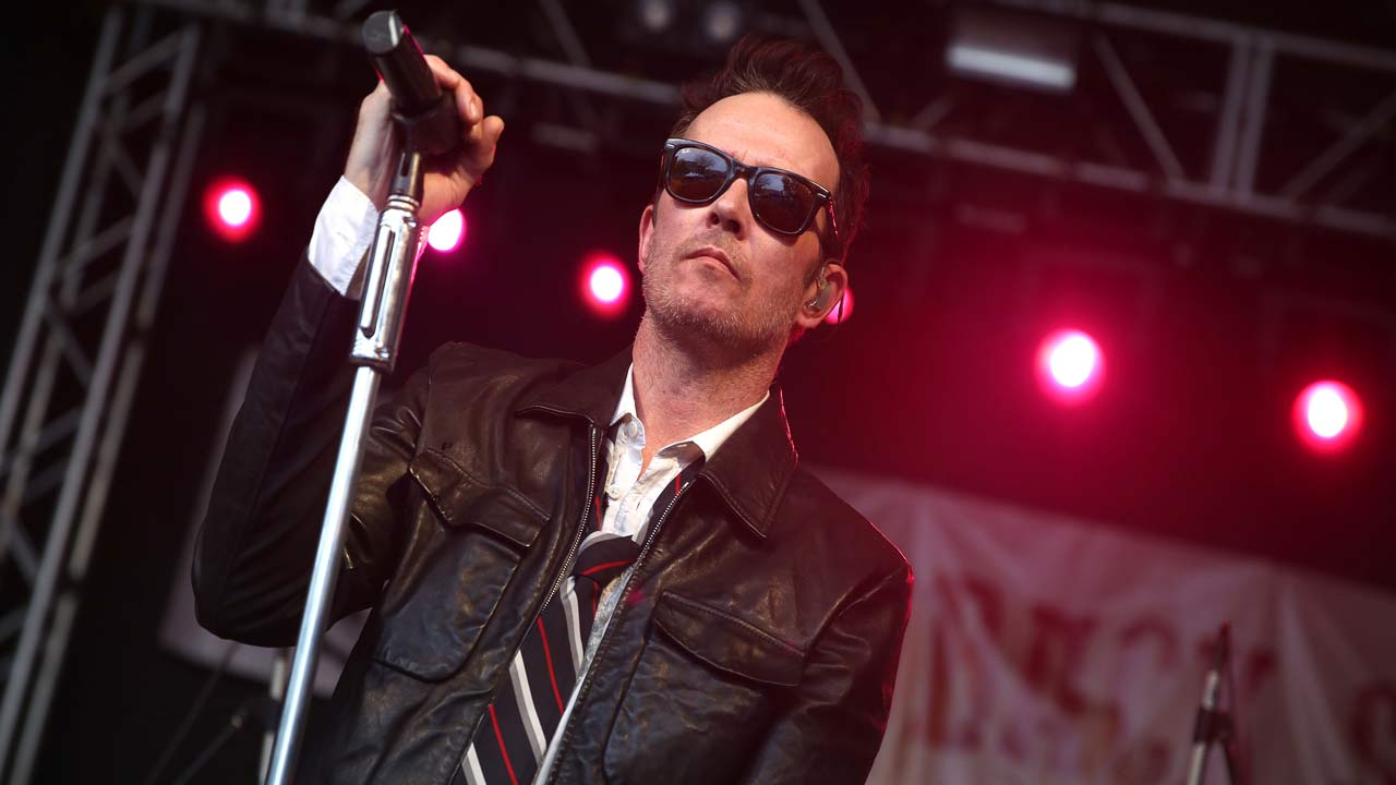 Scott Weiland and the Wildabouts perform at the Rachael Ray Feedback Party at Stubb's during South By Southwest on Saturday, March 21, 2015, in Austin, TX.